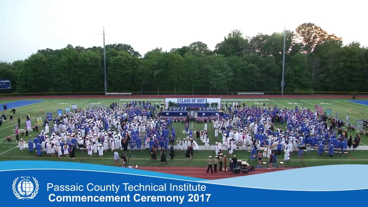 Passaic County Technical Institute 2017 Commencement ...