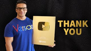 1000000 Subscribers | Gold Button | Yatinder Singh