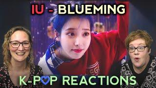 First Time Kpop Reaction to [MV] IU(아이유) _ Blueming(블루밍). Tw…