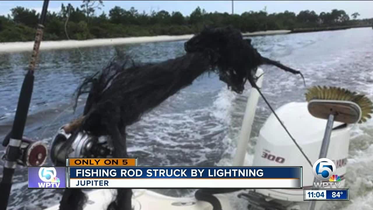 Lightning strikes boat off Jupiter blows apart fishing rod & Lightning strikes boat off Jupiter blows apart fishing rod - YouTube azcodes.com