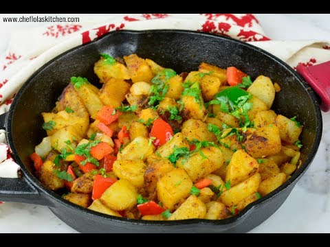 Breakfast Potatoes (Skillet Potatoes) | Chef Lola's Kitchen