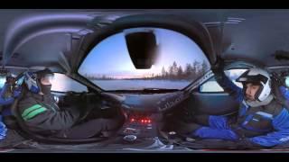 The Barbican drifting challenge in 360 –تحدي التفحيط على الثلج في فيديو 360 من بربيكان