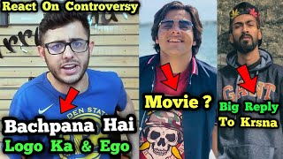 CarryMinati React on YouTube Controversies | Muhfaad Big Reply to Krsna | Ashish Chanchlani