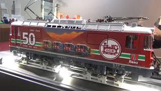LGB und PIKO Gartenbahn Neuheiten 2018 Faszination Modellbahn Sinsheim
