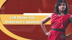 Cell Phone Tax Deduction Explained