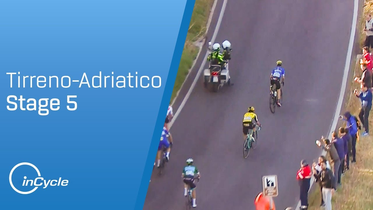 83be8098d2c Tirreno-Adriatico 2019 | Stage 5 Highlights | inCycle - YouTube