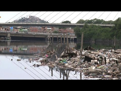 Biologist shows pollution of Rio waters ahead of Olympics