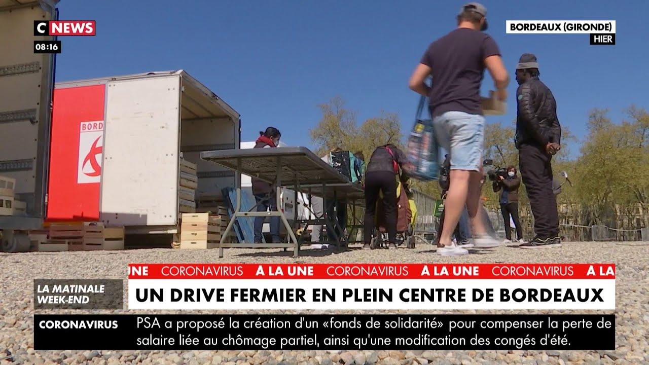 Un drive fermier en plein centre de Bordeaux