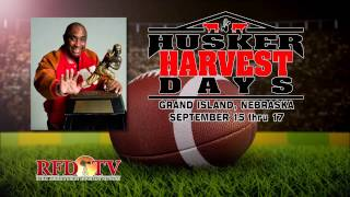 Johnny Rodgers at Husker Harvest Days