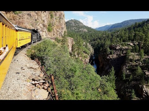 Durango & Silverton Railroad – Part 1, with Driver, Passenger and Line-side Views