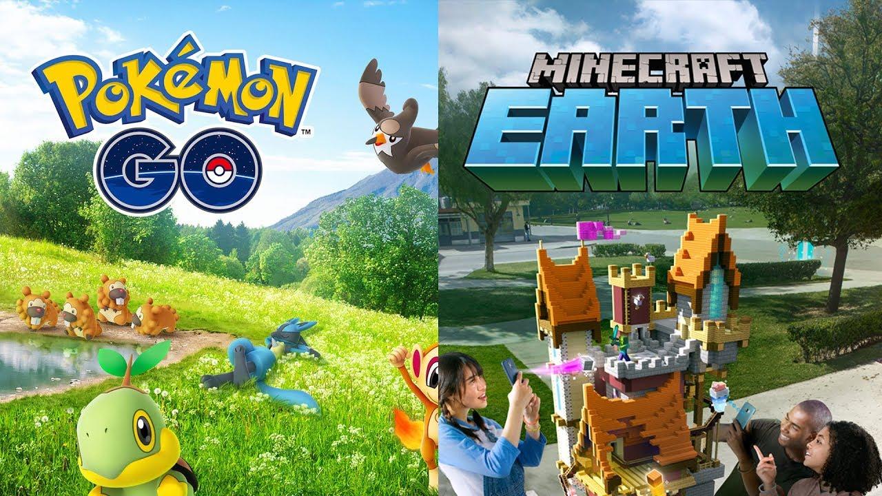 Pokemon Go vs Minecraft Earth Comparison: Catching