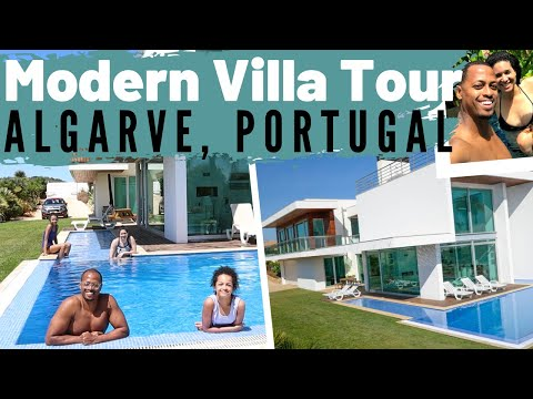 We Retired Early in Portugal | TOUR OUR VACATION VILLA RENTAL (We Can Finally Travel Again!!!)