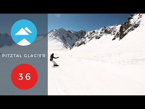 Red 36 | Pitztal Glacier, Austria | Piste View