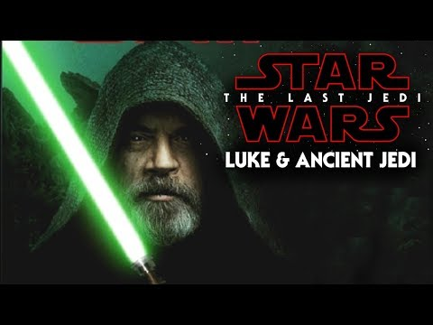 Star Wars The Last Jedi - Luke & The Ancient Jedi Books