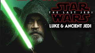 Star Wars The Last Jedi - Luke & The Ancient Jedi Books