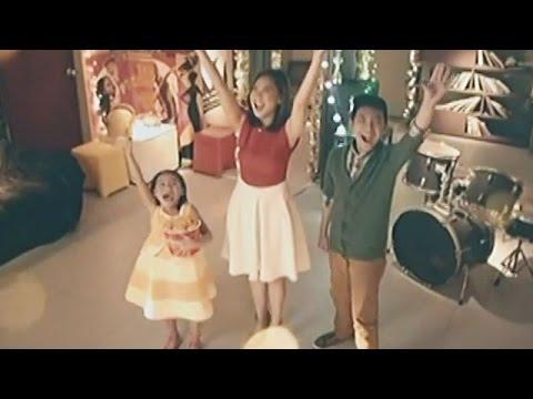 Download Sarah, Darren, Lyca for 'Jolly Jolly Joy Joy'