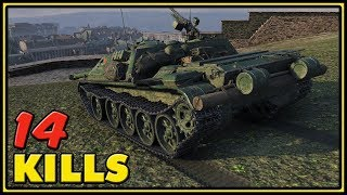 WZ-120-1G FT - 14 Kills - World of Tanks Gameplay