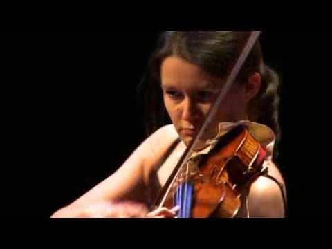 Canada Council laureate Véronique Mathieu plays Baker Élégie with 1715 Montagnana violin