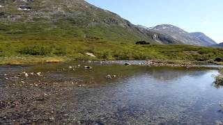 Maisemaa Reinheimin kansallispuistossa Norjassa