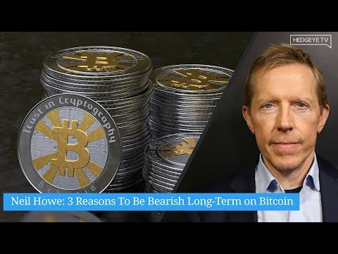 Neil Howe: 3 Reasons To Be Bearish Long-Term On Bitcoin