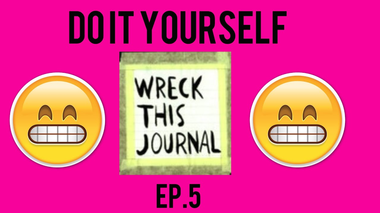 Diy wreck this journal ep5 youtube diy wreck this journal ep5 solutioingenieria Images
