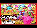 ★Winning At Rigged Carnival Games!! Carnival Game Tips Tricks & Secrets!!! ~ ClawTuber
