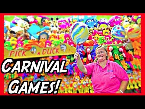 ★Winning At Rigged Carnival Games!! Carnival Game Tips Tricks & Secrets!!! ~ ClawTuber
