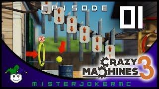 Crazy Machines 3 Gameplay - 01 - Intro to Crazy Machines 3
