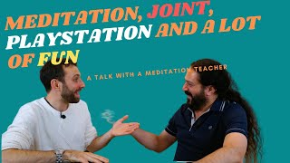 Meditation or a Joint, Playstation? and a lot of fun. The Yogveda Podcast with Shahid and Kevin