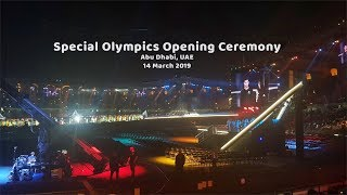 Special Olympics Opening Ceremony in Abu Dhabi