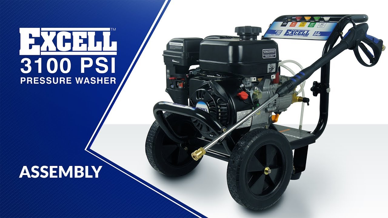 Excell 3100 Pressure Washer Assembly