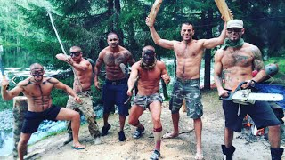 Племя The Братья. Освобождён ли Джанго. Рафтинг. Воркаут в лесу. Экстрим в Карелии. Часть 2
