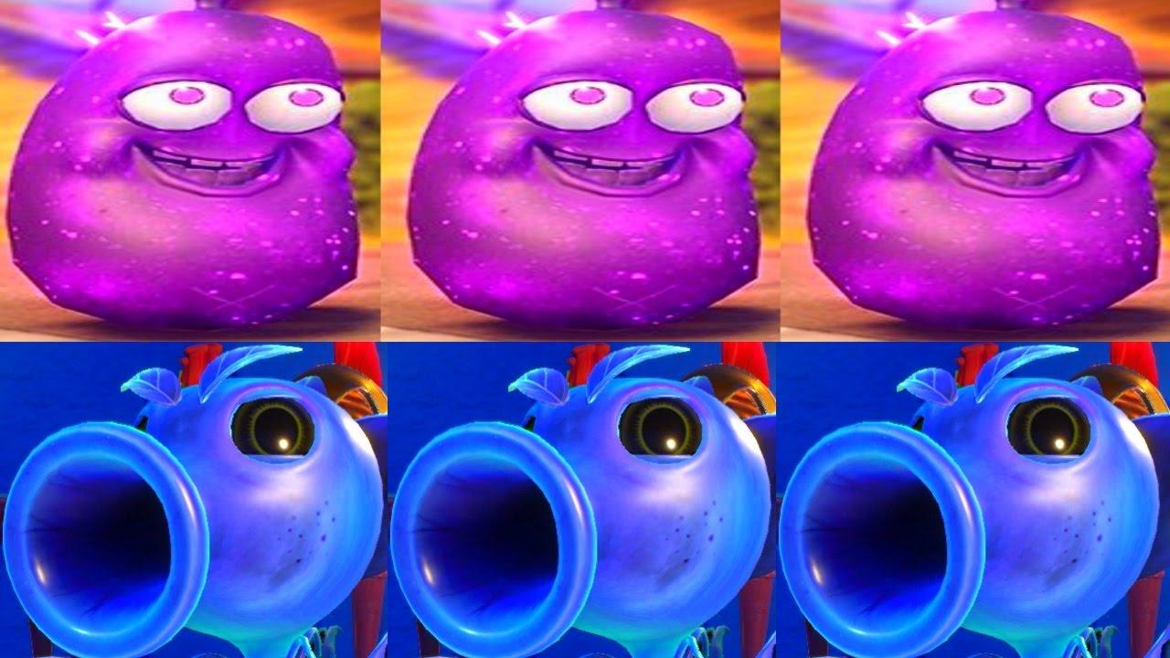 Pvz Garden Warfare 2 Dark Bean Bomb Plasma Pea Garden Ops