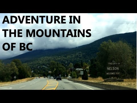 The Road to Nelson | Kootenays Travel Vlog Part 1