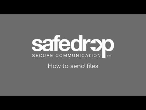 How to send files with safedrop