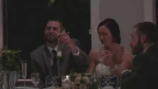 Nick & Renee Greenwood's Wedding - Kevin's Toast