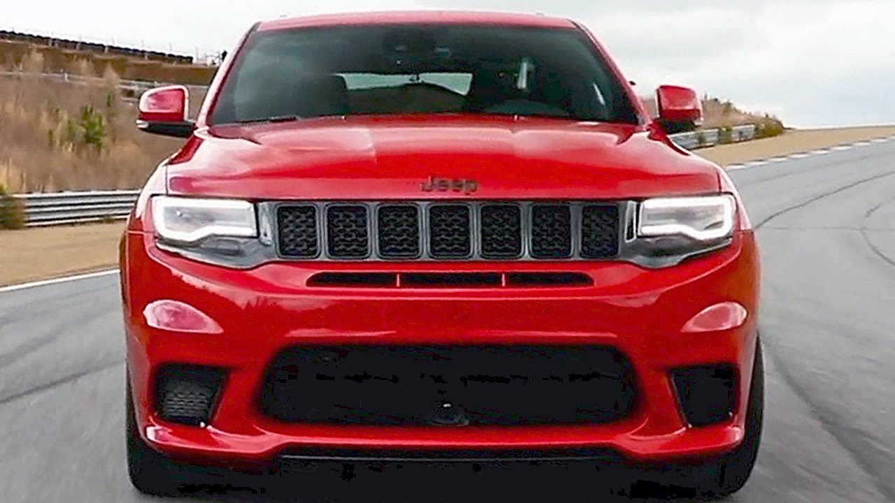 2018 Trackhawk Jeep >> 2018 Jeep Grand Cherokee Trackhawk 707hp The Most Powerful Suv