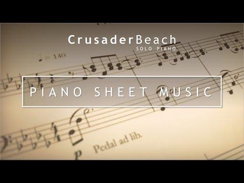CrusaderBeach - Piano Sheet Music | Beautiful Original Instrumental Piano Music