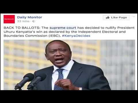 International Media eyes Kenya as Supreme Court rules in favour of Raila Odinga