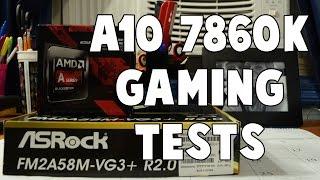 AMD A10-7860K Benchmarking & Gaming!