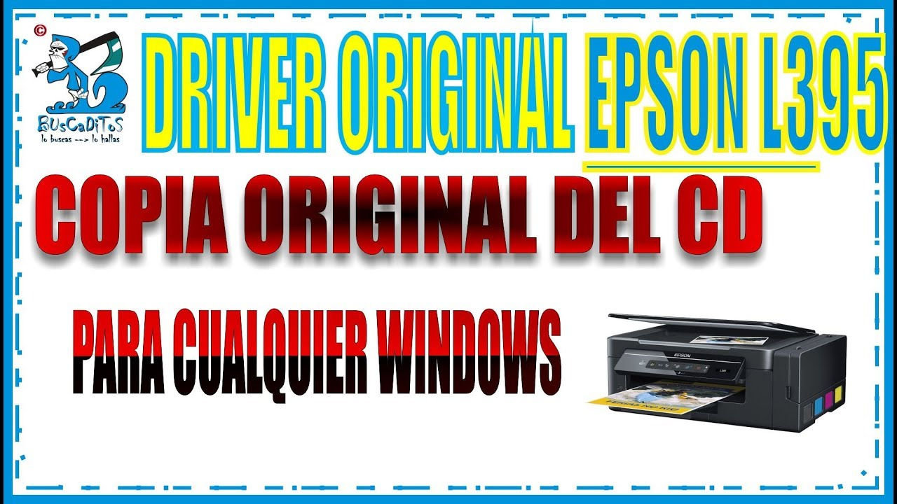 descargar driver epson l395 windows 10 64 bits