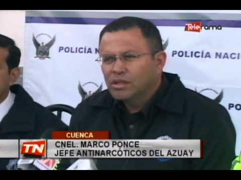 Policía Nacional decomisa 1063 gramos de cocaína