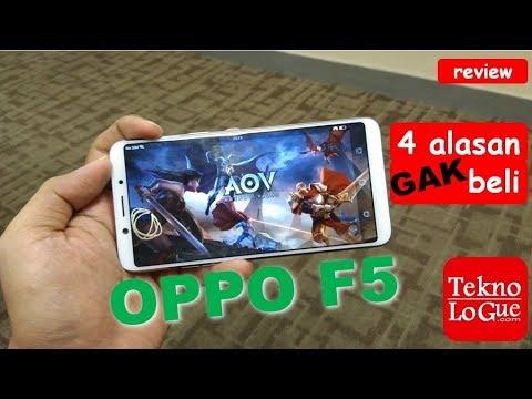 OPPO F5 : 4 Alasan Gak Beli [review] - Jangan Beli Sebelum Nonton