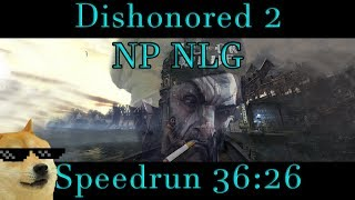 Dishonored 2 - No powers, Non-Lethal/Ghost Speedrun 36:26