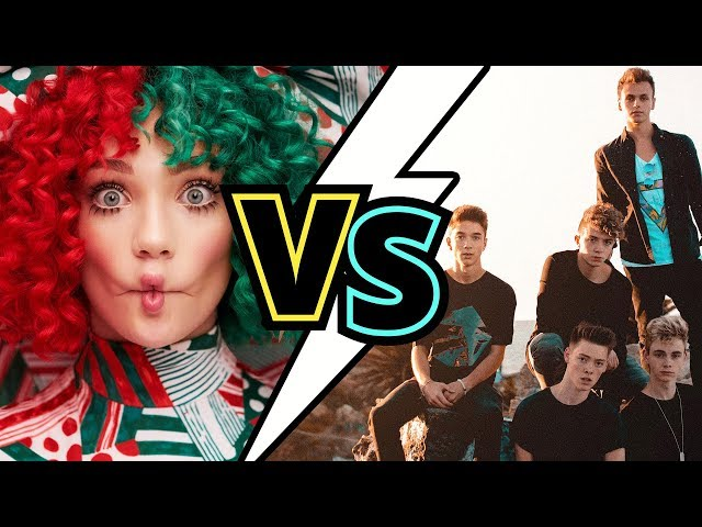 Sia VS. Why Don't We (CHRISTMAS EDITION)