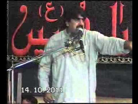 Zakir Ghazanfar Abbas gondal majlis at multan