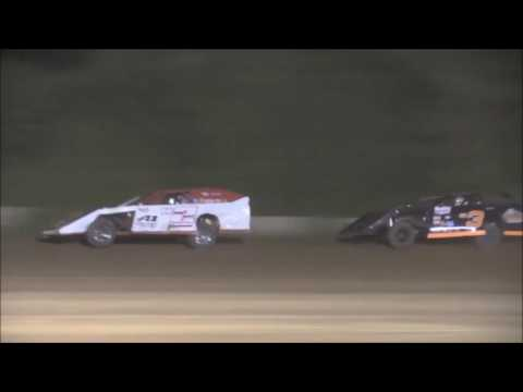 AMRA Modified Heat #2 from Legendary Hilltop Speedway, August 19th, 2016.