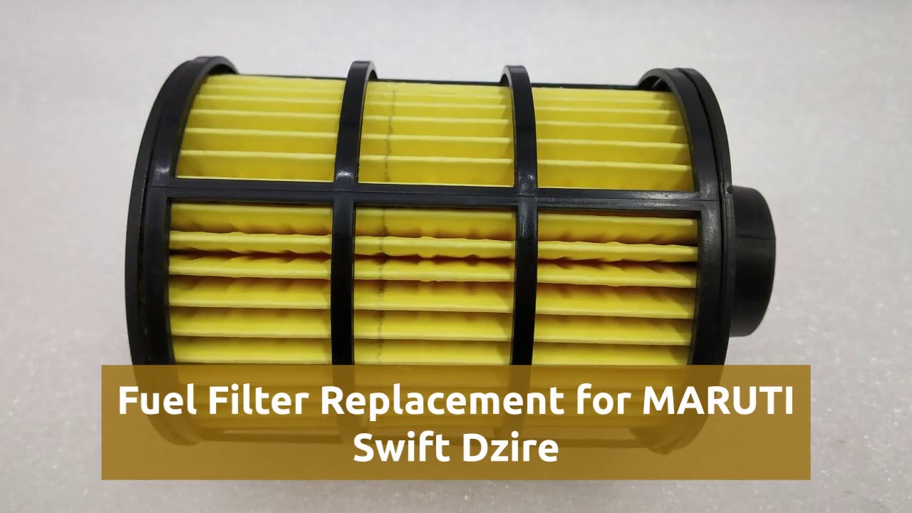 fuel filter for maruti suzuki swift dzire [ 1280 x 720 Pixel ]