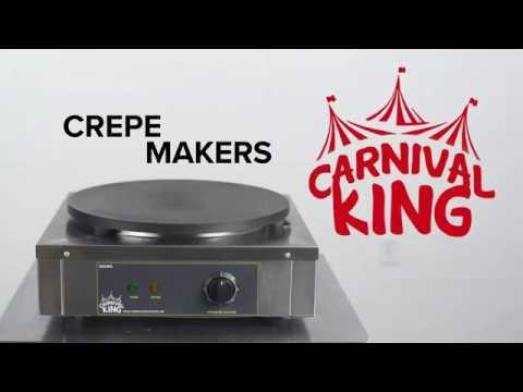Carnival King Crepe Makers