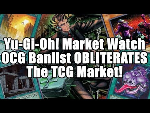 Yu-Gi-Oh! Market Watch - OCG Banlist OBLITERATES TCG Market! Super Agent = Diagram Price!?
